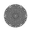 Векторный клипарт: Декоративные Серый Круглый