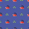 Kitchen Kettle Seamless Pattern | Stock Vector Graphics