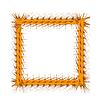 Decorative Yellow Frame | Stock Vector Graphics