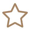 Rope Creative Ornamental Star Frame | Stock Vector Graphics