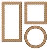 Rope Creative Ornamental Frames | Stock Vector Graphics