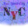 New York T-shirt Emblem. Starry Basketball Logo | Stock Vector Graphics