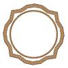 Rope Creative Ornament | Stock Vector Graphics