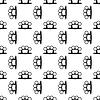 Metall Knuckles Seamless Pattern