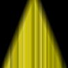 Vektor Cliparts: Kino geschlossen Gelb Vorhang