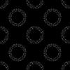 Vektor Cliparts: Nahtlose Schwarz-weiße Kette Muster