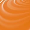 Vektor Cliparts: Orange Wellen. Glatte Strudel-Hintergrund