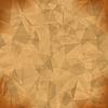 Vektor Cliparts: Orange Licht Polygonal Mosaik-Hintergrund