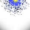 Vektor Cliparts: Explosionswolke Grau Stück. Sharp Partikel
