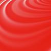 Vektor Cliparts: Abstrakte glühende Rot-Wellen
