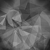 Vektor Cliparts: Grau Hell Polygonal Mosaik Hintergrund