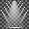 Vektor Cliparts: Concert Lighting. Bühnenscheinwerfer Hintergrund