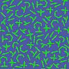 Vektor Cliparts: Set grüne Pfeile Seamless Pattern