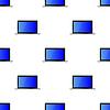 Vektor Cliparts: Laptop-nahtloses Muster