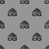 Vektor Cliparts: Dieb Icon Seamless Pattern