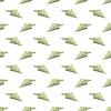 Vektor Cliparts: Papier-Dollar-Konzeptflugzeug nahtlose Muster