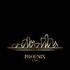 Gold-Silhouette von Phoenix