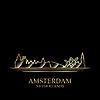 Векторный клипарт: Золотой силуэт Амстердама