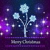 Векторный клипарт: Благодаря новой Рождество концепции фон