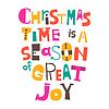 Weihnachtszeit ist Zeit der großen Freude