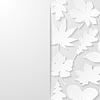 Abstrakt Hintergrund mit Papier Blättern
