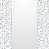 Векторный клипарт: абстрактный фон со снежинками