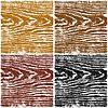 Vektor Cliparts: Farbe Holz Textur