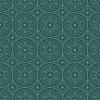 Bläulich-grünen Farben Round Gittermuster. Koreanisch | Stock Vektrografik