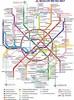Moscow metro map - EN
