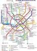 Moscow metro map - RU