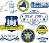 Gattungsmarken und Zeichen von New York State