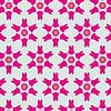 ID 5115293 | Śliczne abstrakcyjne neon kobiecy wzór do tekstyliów | Klipart wektorowy | KLIPARTO