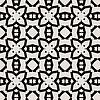 Vektor Cliparts: Spitze Blumen ethnische verzierung nahtlose Muster