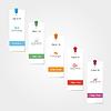 Векторный клипарт: Инфографики шаблон отчета