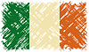 Irish Grunge-Flag.
