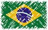 Brazilian Grunge-Flag.