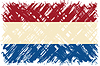 Niederländische Schmutzflagge.