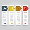 Banner Infografik Design-Vorlage
