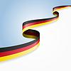 Deutschland Flagge Hintergrund.