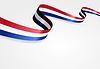 Niederländische Flagge Hintergrund.