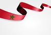 Marokkanische Flagge Hintergrund.