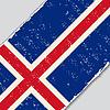 Icelandic Grunge-Flag.