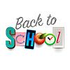 Векторный клипарт: Back To School фоне