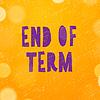 Векторный клипарт: Школы из, конец срока