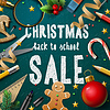 Векторный клипарт: Рождественская ярмарка плакат