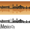 Mexico City V2 Skyline