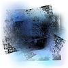 Vektor Cliparts: Grunge-Hintergrund 02 schwarz 0