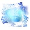 Vektor Cliparts: Grunge-Hintergrund 02 blaue Farbe 0