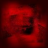 Vektor Cliparts: Grunge-Hintergrund 02 rad-schwarz 0