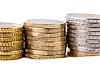 Euro Coins   Stock Foto